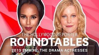 getlinkyoutube.com-Kerry Washington, Kate Mara and more Drama Actresses on THR's Roundtable | Emmys 2013