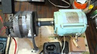 getlinkyoutube.com-быстрая зарядка эл.двигатель+генератор