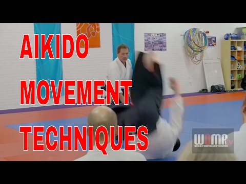 AIKIDO Movement Techniques Christian Tissier pt8