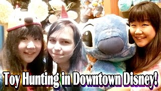 getlinkyoutube.com-TOY HUNTING in Downtown Disney with RadioJh Audrey! - Stitch, Stitch, Stitch EVERYWHERE!!