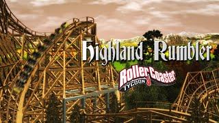 getlinkyoutube.com-[RCT3] Highland Rumbler - GCI Wooden Coaster CT