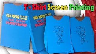 getlinkyoutube.com-T - shirt Screen Printing Process Manually