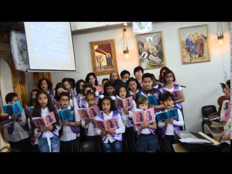 كنيسة القديس اثناسيوس الرسولى باسن هولندا اطفال الكنيسة فى الاحتفال بعيد الكنيسة 2014