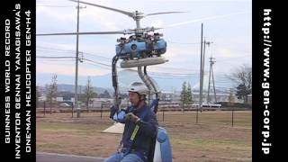getlinkyoutube.com-Guinness Record Smallest Helicopter GEN-H4 (Pt.2)