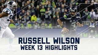 getlinkyoutube.com-Russell Wilson Leads 'Hawks to Victory! (Week 13 Highlights) | Panthers vs. Seahawks | NFL
