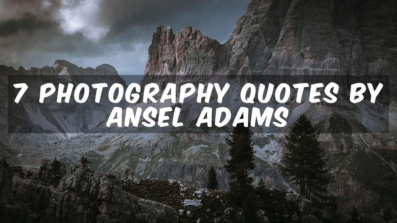 Photography Quotes Inspiration And Motivation From Famous Photographers