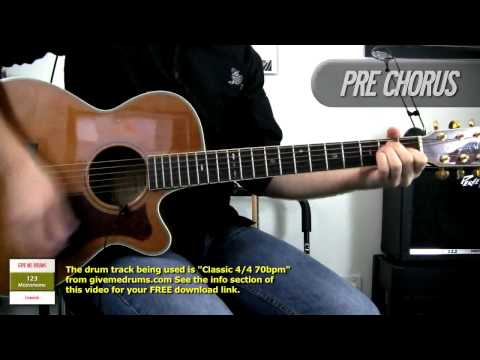 Cats In the Cradle - Harry Chapin / Ugly Kid Joe - Acoustic Guitar Cover - How To Play