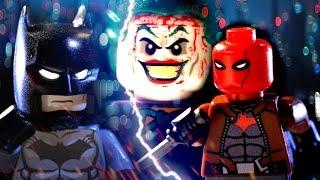 "getlinkyoutube.com-LEGO BATMAN VS RED HOOD ( ""UNDER THE RED HOOD"" &  ""Death in the Family""  Stop Motion Brickfilm)"