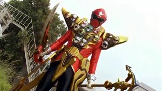 getlinkyoutube.com-Kaizoku Sentai Gokaiger | Gokai Red Gold Mode - sub español