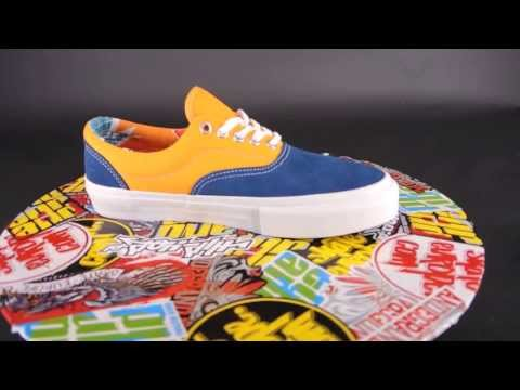 VANS Era Pro [ (80'S box) navy / sun ] pro skate collection