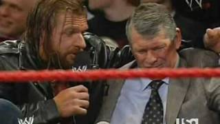 "getlinkyoutube.com-Triple H Helps Vince ""Looney"" McMahon"