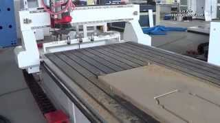 getlinkyoutube.com-1325 row type ATC router, HSD spindle, SYNTEC system, China cnc router