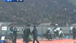 getlinkyoutube.com-日本VS中国 サッカー ラフプレー場面集