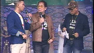 MAGIC SHOW UYA KUYA AT EAT BULAGA PHILIPPINES TELEVISION ( APPEARING PESO FROM TISSUE)