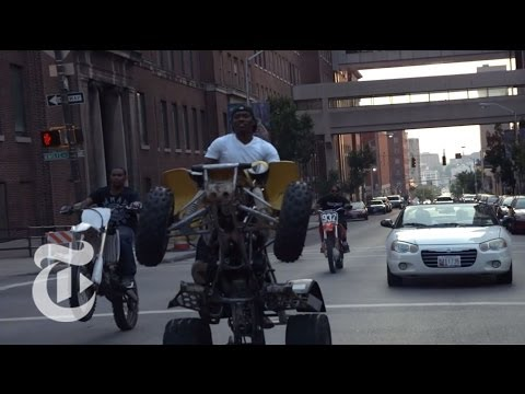 Riding With The 12 O'clock Boys: Dirt Biking In Baltimore