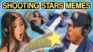 TEENS REACT TO SHOOTING STARS MEMES COMPILATION