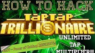 getlinkyoutube.com-How To Hack Tap Tap Trillionaire | Unlimited Tap Multiplier