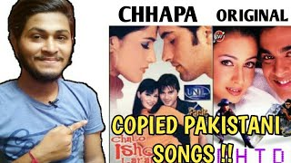 COPIED PAKISTANI SONGS FROM BOLLYWOOD(PART 6) | LOLLYWOOD THE BIGGEST CHHAPA INDUSTRY | EP 88 |