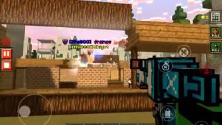 getlinkyoutube.com-Pixel Gun 3D GUN REVIEW: PLASMA RELEASER  This gun is really fun to use and can get you kills eas...