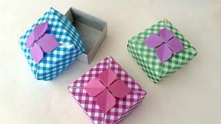 getlinkyoutube.com-折り紙 あじさい箱 Origami Hydrangea Box
