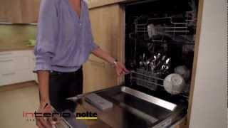 Ergonomia – zmywarka wysoko - meble kuchenne Nolte