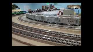 getlinkyoutube.com-Burlington Northern at Carquinez Model Railroad Society
