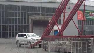 getlinkyoutube.com-Toyota Landcruiser steep climb POLAND