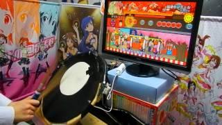 太鼓の達人WiiU 「脳漿炸裂ガール(表)」 全良 Playerよみぃ