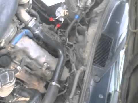 Mazda MPV работа двигателя
