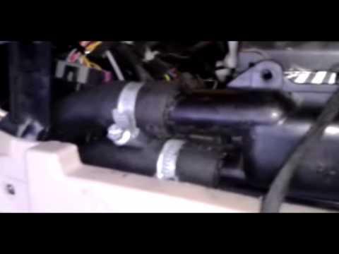 Дополнительный радиатор чери фора А-21 для двс 1.6