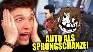 DIE AUTO-SPRUNGSCHANZE! & GLP MUSS INS KRANKENHAUS! ✪ FERNBUS SIMULATOR mit GermanLetsPlay