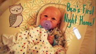 getlinkyoutube.com-Ben's First Night Home! Reborn Baby Night Routine!