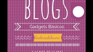 getlinkyoutube.com-Cómo añadir los Gadgets básicos de Blogger