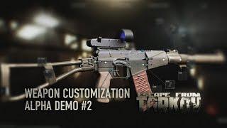 Escape from Tarkov - Fegyver testreszabás #2 (alfa)