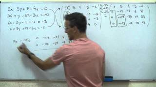 Imagen en miniatura para Sistema de ecuaciones con 4 incognitas Reduccion GAUSS