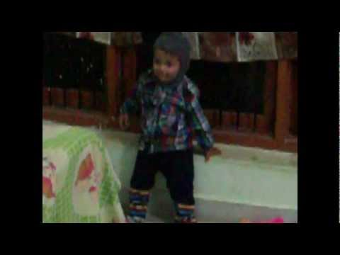 Baby dance vivek satsangi (age 1 year & 4 month,) at home