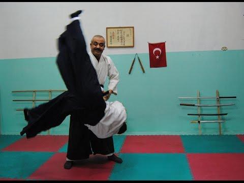 AİKİDO TEKNİKLERİ - (ayak bıçak bilek silah tekme yumruk savunma)