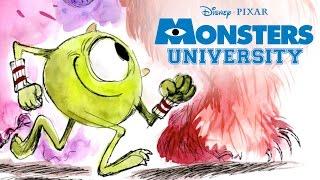 getlinkyoutube.com-Story School    Monsters U   Disney Pixar