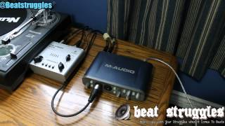 getlinkyoutube.com-Audio Interface M-Audio Fast Track Pro Set Up