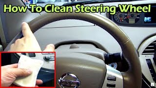 getlinkyoutube.com-How to Clean and Restore Your Leather Steering Wheel