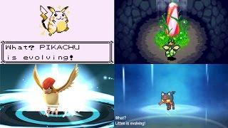getlinkyoutube.com-Evolution of Pokémon Evolution Animations (1996 - 2016)