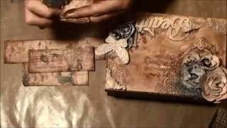 Mixed media altered box tutorial