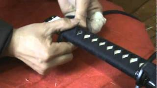 getlinkyoutube.com-How to wrap your tsuka in easy way480p H 264 AAC