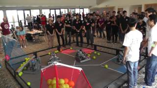 """getlinkyoutube.com-VEX Robotics """"Nothing But Net""""   Field Cleared (UH West Oahu Competition)"""