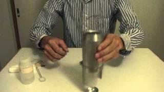 getlinkyoutube.com-ウルトラライトなアルミ缶クッカー
