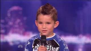 getlinkyoutube.com-Lil'T Tanner Edwards, 6 ~ America's Got Talent 2011, Houston Auditions