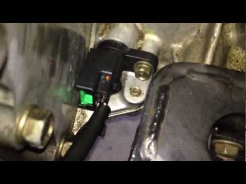 Code P0725 / P0335 / P0340 - Crankshaft Positioning Sensor Replacement DIY - Nissan.