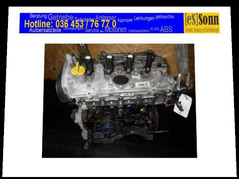 Gebrauchter Motor Renault Megane II K4M 760 K4M760