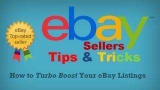getlinkyoutube.com-How To Boost Your eBay Listings | eBay Sellers Tips & Tricks