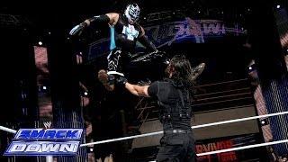 getlinkyoutube.com-The Usos & Rey Mysterio vs. The Shield: SmackDown, Nov. 22, 2013